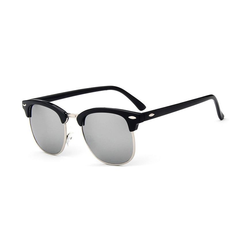 Skeyeware Shades Men Half-Frame Sunglasses (Club Style)