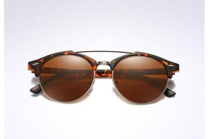 Skeyeware Shades Men leopard brown / no box Club Style Polarized Sunglasses