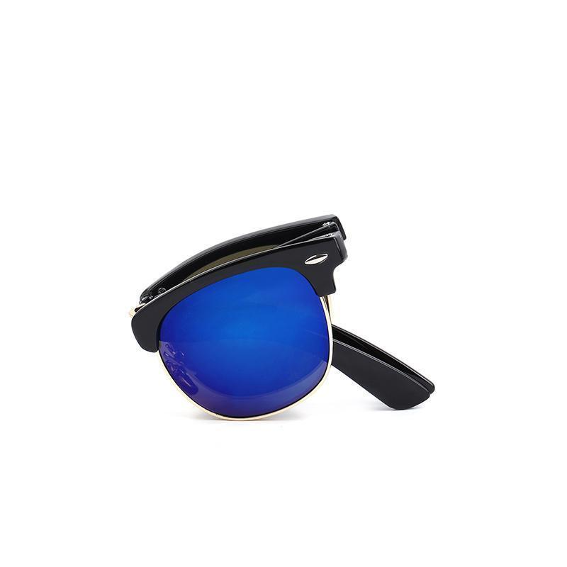 Skeyeware Shades Men Vintage Folding Sunglasses (comes with case)