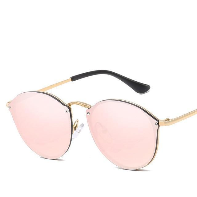 Luxury Round Sunglasses - Pink - New Arrivals