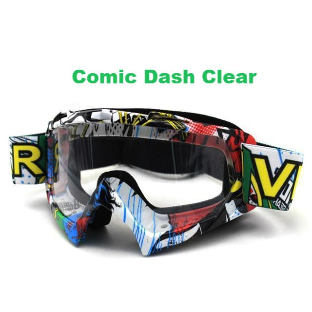 Clutch Goggs - Comic Dash Clear - New Arrivals
