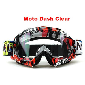 Clutch Goggs - Moto Dash Clear - New Arrivals
