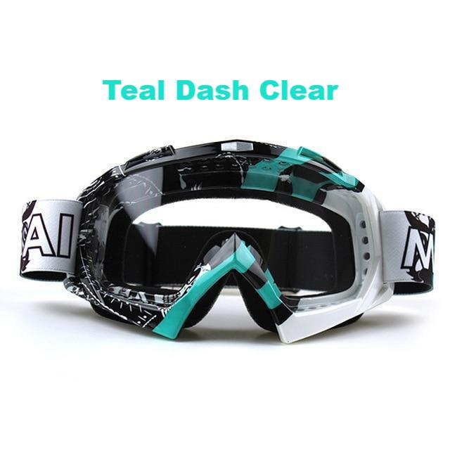 Clutch Goggs - Teal Dash Clear - New Arrivals