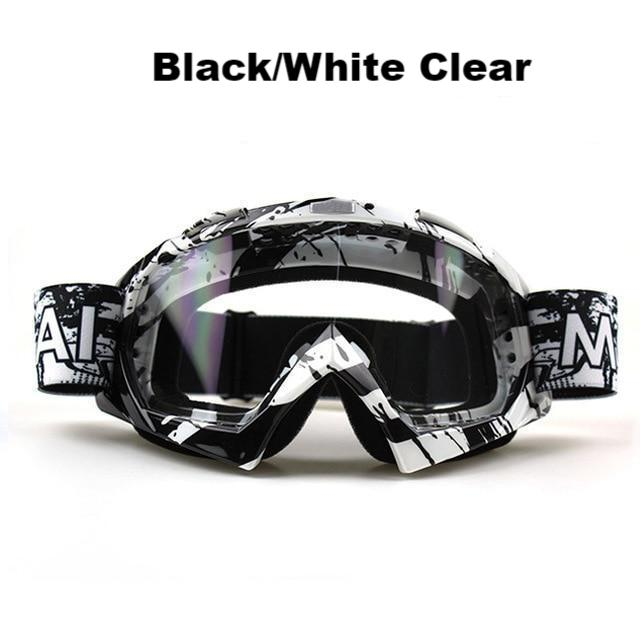 Clutch Goggs - Black/white Clear - New Arrivals