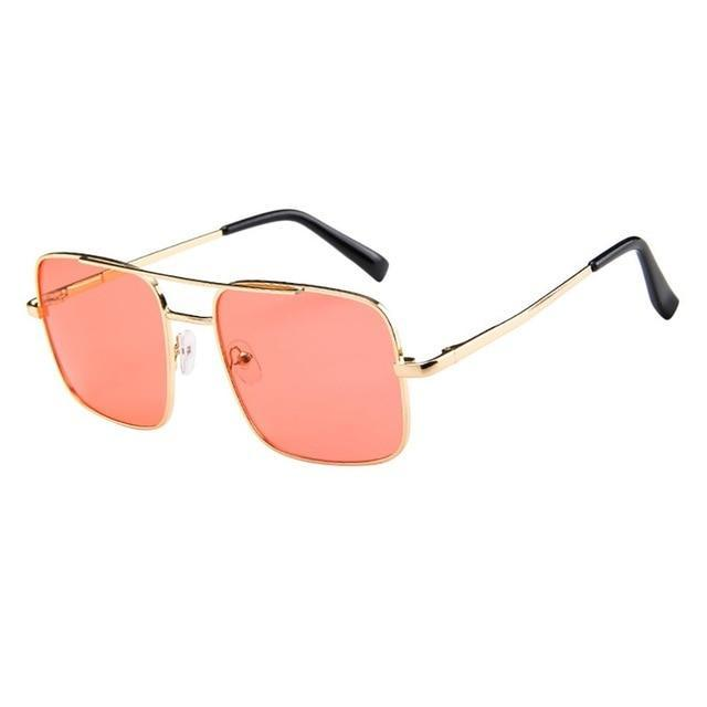 Skeyeware Shades Unisex A (Color as shown) / China Retro Sunglasses
