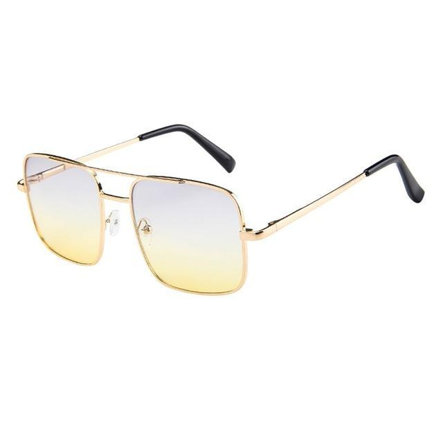 Skeyeware Shades Unisex C (Color as shown) / China Retro Sunglasses