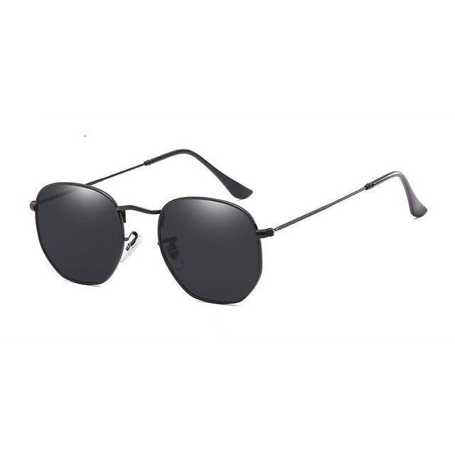 Polygon Sunglasses - Black - Men