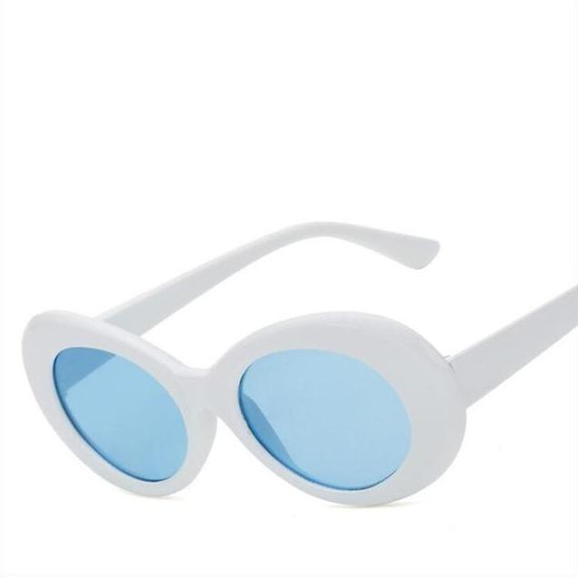 Clout Goggs - White Blue - New Arrivals
