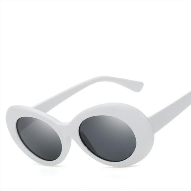 Clout Goggs - White Gray - New Arrivals