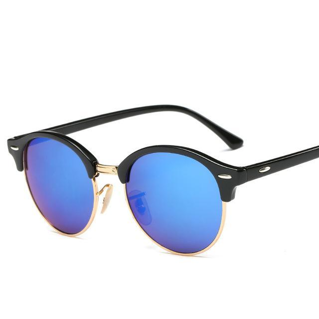 Rosie Rivets Sunglasses - Black And Blue - Women