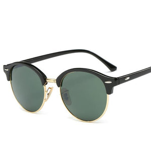 Rosie Rivets Sunglasses - Black And Green - Women