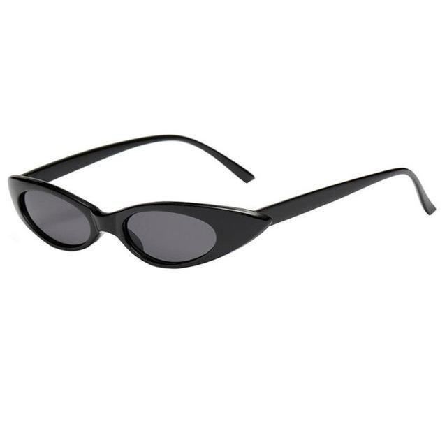 Skeyeware Shades Women black frame Oval Frame Cat Eye Sunglasses