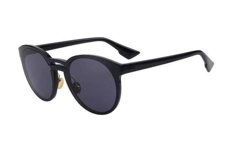 Butterfly Womens Sunglasses - Black - Women
