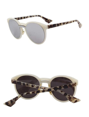 Butterfly Womens Sunglasses - Silver - Women