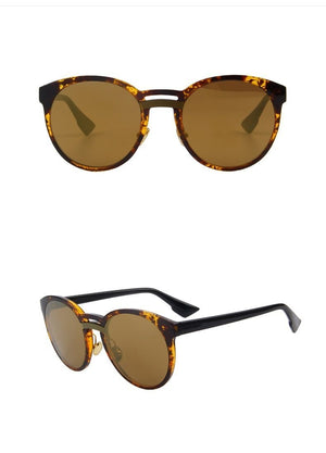 Butterfly Womens Sunglasses - Brown - Women