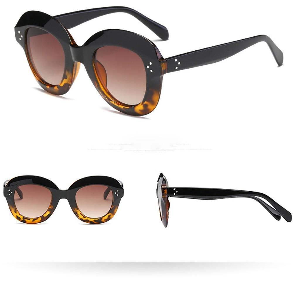 Skeyeware Shades Women Tortoise Fade Vintage Cat Eye Sunglasses