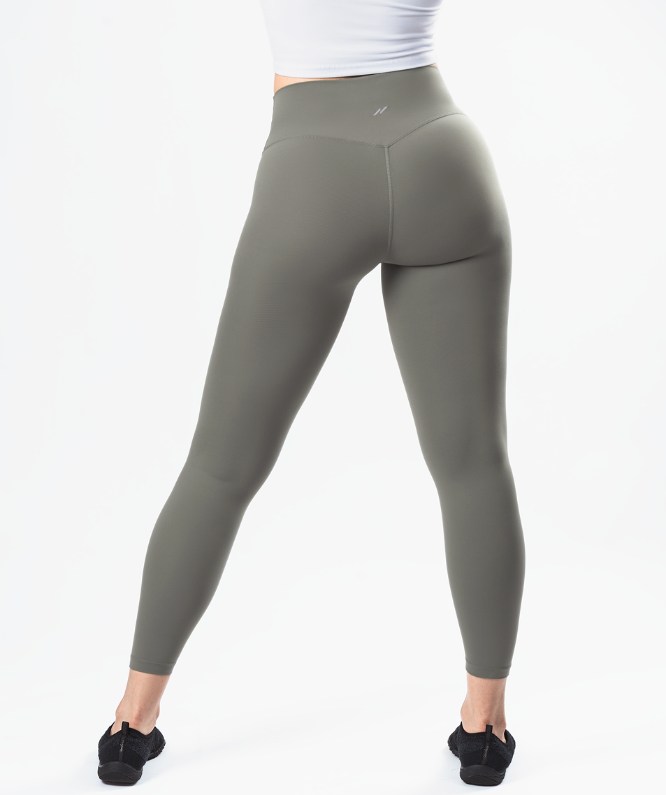 Allure Leggings - Combat Green