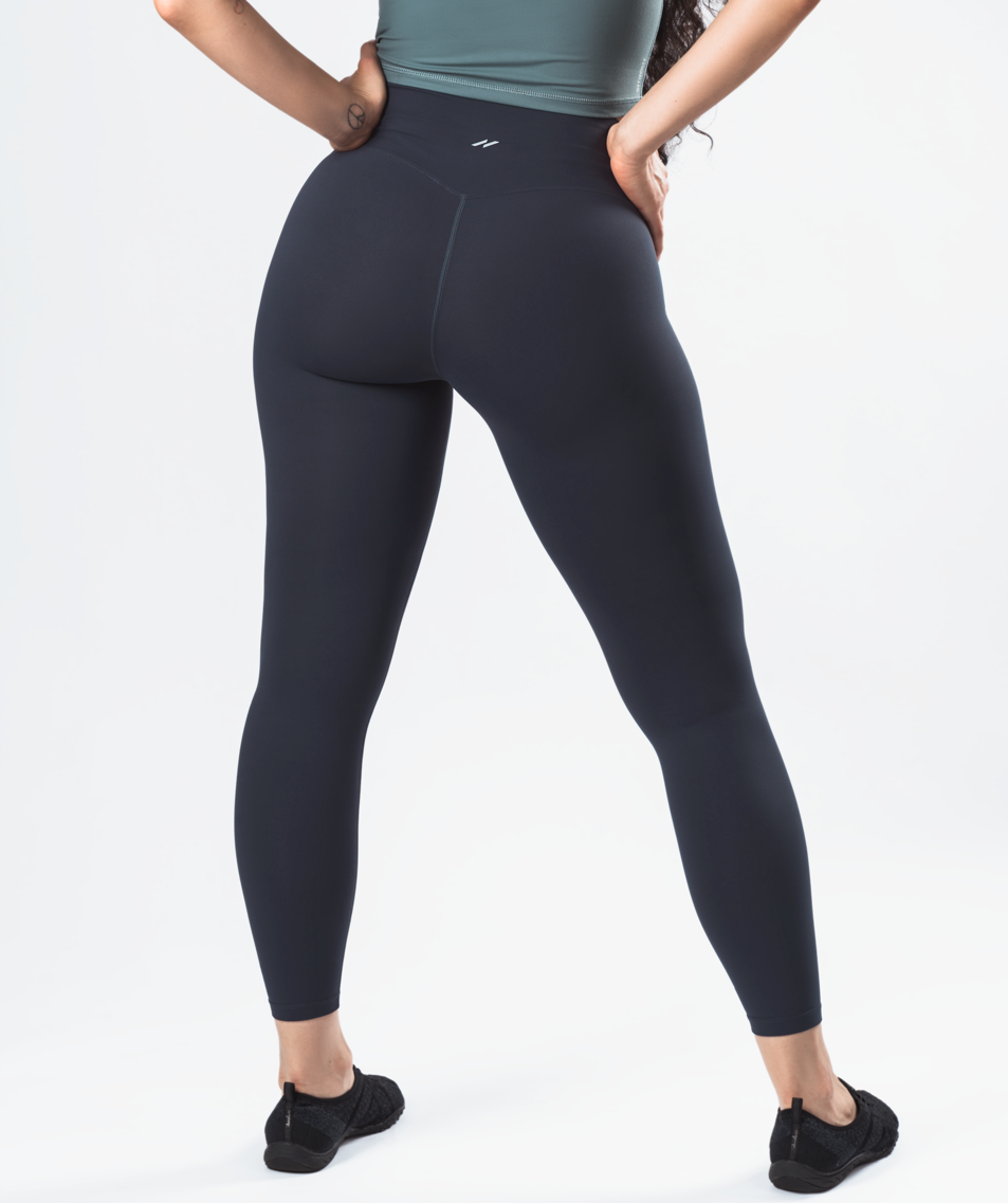 Allure Leggings - Slate Blue