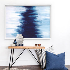 Abstract Event Horizon - Art Print, Stretched Canvas or Framed Canvas Wall Art, Shown inside a frame