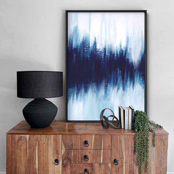 Abstract Event Horizon - Art Print, Stretched Canvas, or Framed Canvas Wall Art