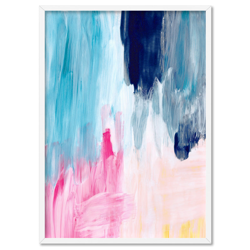 Load image into Gallery viewer, Abstract Brights Painting - Art Print, Stretched Canvas, or Framed Canvas Wall Art