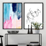 Abstract Brights Painting - Art Print, Stretched Canvas, or Framed Canvas Wall Art
