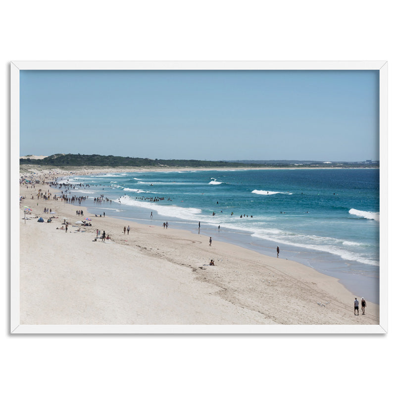 Load image into Gallery viewer, Cronulla Beach Horizon II - Art Print, Stretched Canvas, or Framed Canvas Wall Art
