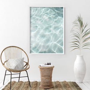Still I | Reflections - Art Print, Stretched Canvas or Framed Canvas Wall Art, Shown inside a frame