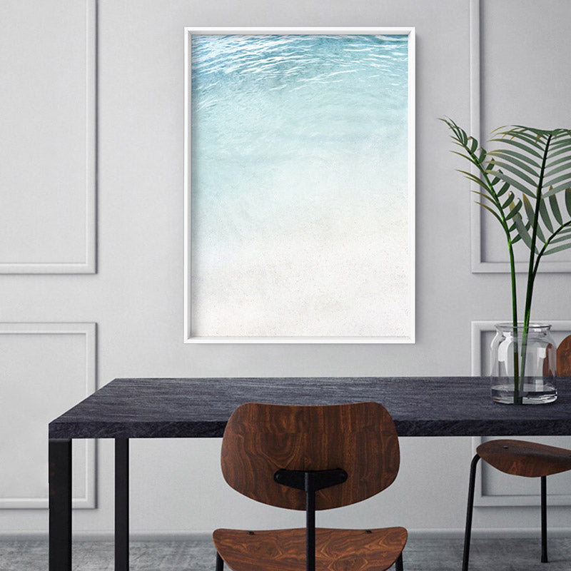 Still III | On the Shore - Art Print, Stretched Canvas or Framed Canvas Wall Art, Shown inside a frame