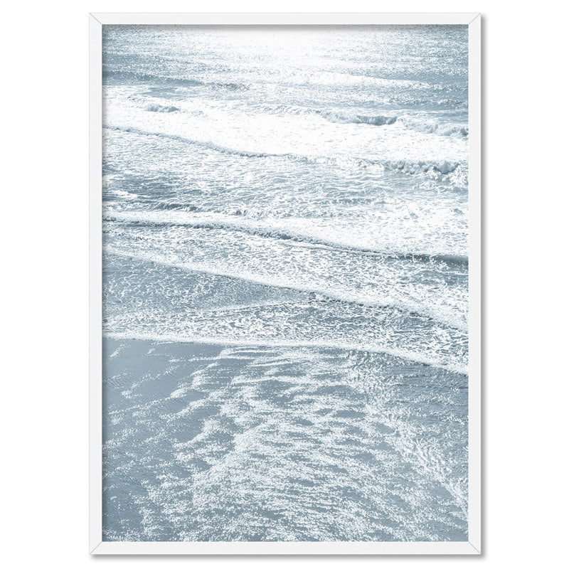 Load image into Gallery viewer, Morning Ocean Alight - Art Print, Stretched Canvas, or Framed Canvas Wall Art