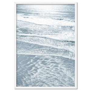 Morning Ocean Alight - Art Print, Stretched Canvas, or Framed Canvas Wall Art