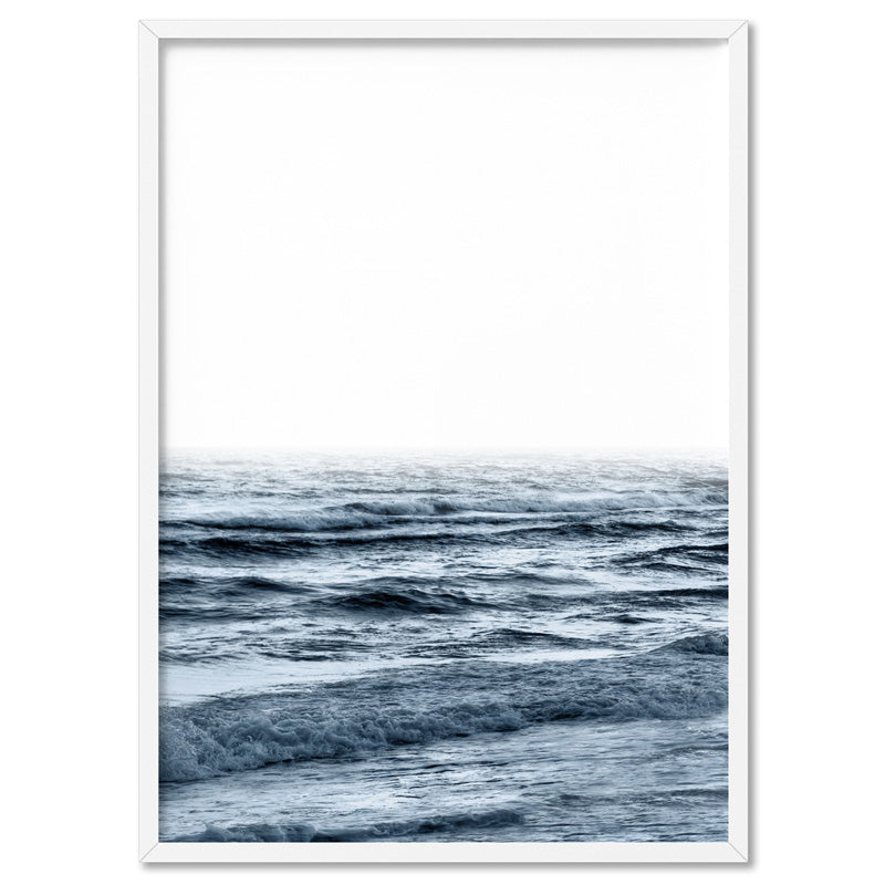 Ocean Waves | Cottesloe - Art Print, Stretched Canvas, or Framed Canvas Wall Art