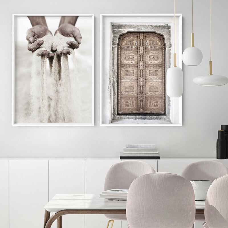 Load image into Gallery viewer, Sand Falling through Hands - Art Print