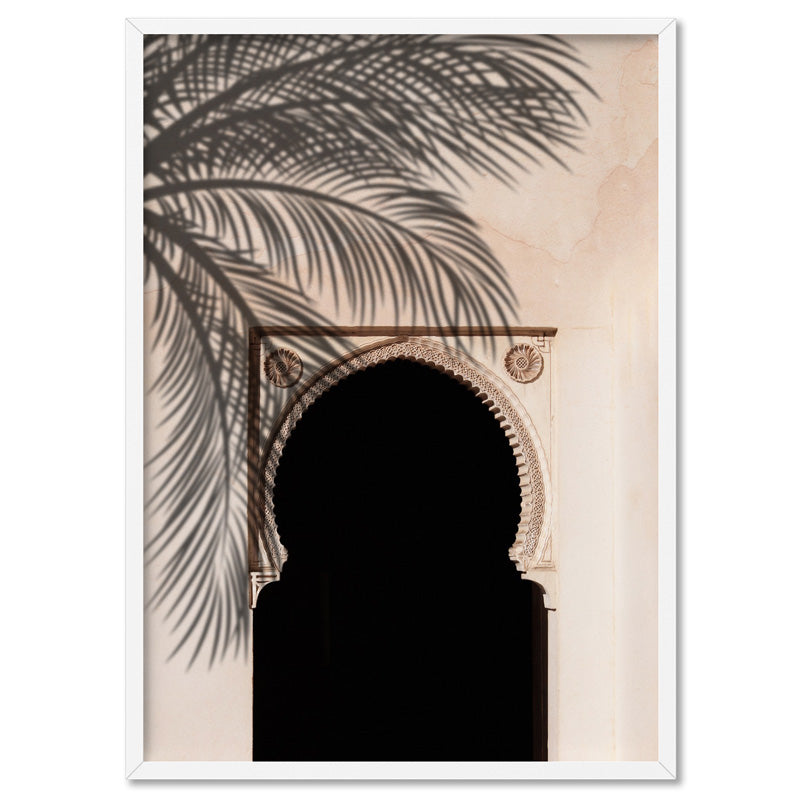 Hideaway in the Moroccan Desert - Art Print, Stretched Canvas, or Framed Canvas Wall Art