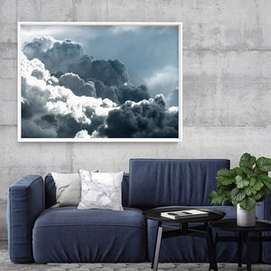 Sea of Clouds I - Art Print, Stretched Canvas, or Framed Canvas Wall Art
