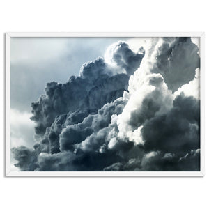 Sea of Clouds II - Art Print, Stretched Canvas, or Framed Canvas Wall Art