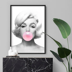 Load image into Gallery viewer, Marilyn Bubblegum - Art Print