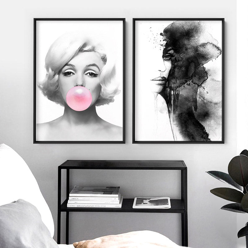 Marilyn Bubblegum - Art Print