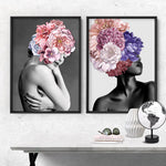 Floral Crown I - Art Print, Stretched Canvas, or Framed Canvas Wall Art