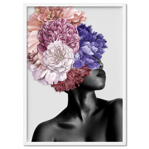 Floral Crown II - Art Print, Stretched Canvas, or Framed Canvas Wall Art