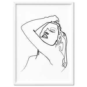 Naked Line Drawing I - Art Print, Stretched Canvas, or Framed Canvas Wall Art