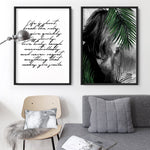 Hideaway in the Palms - Art Print, Stretched Canvas, or Framed Canvas Wall Art