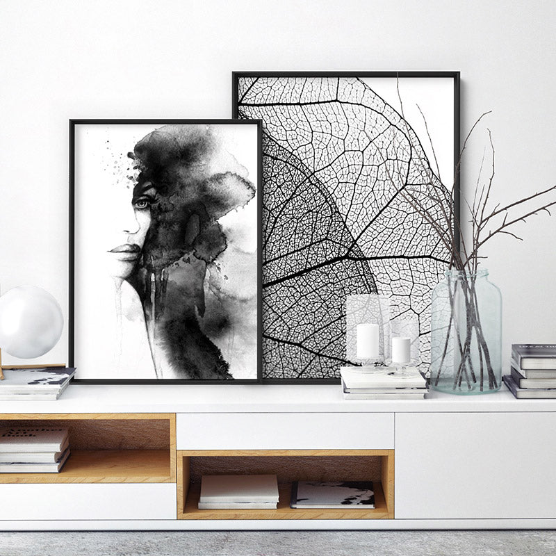 Out of the Shadows - Art Print, Stretched Canvas or Framed Canvas Wall Art, Shown framed in a room mockup