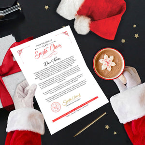 Custom Personalised Letter from Santa, written by the big man himself!