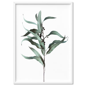 Dried Eucalyptus Leaves III - Art Print, Stretched Canvas, or Framed Canvas Wall Art