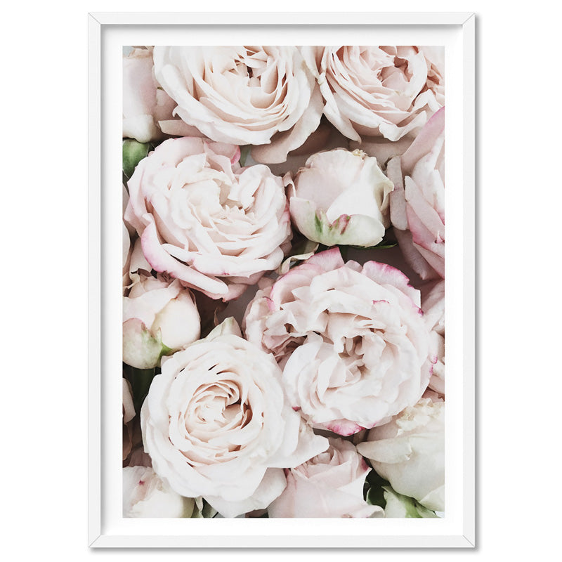 Load image into Gallery viewer, Light Roses | Sea of Flowers - Art Print