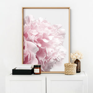 Peonies Bunch V3 - Art Print, Stretched Canvas, or Framed Canvas Wall Art