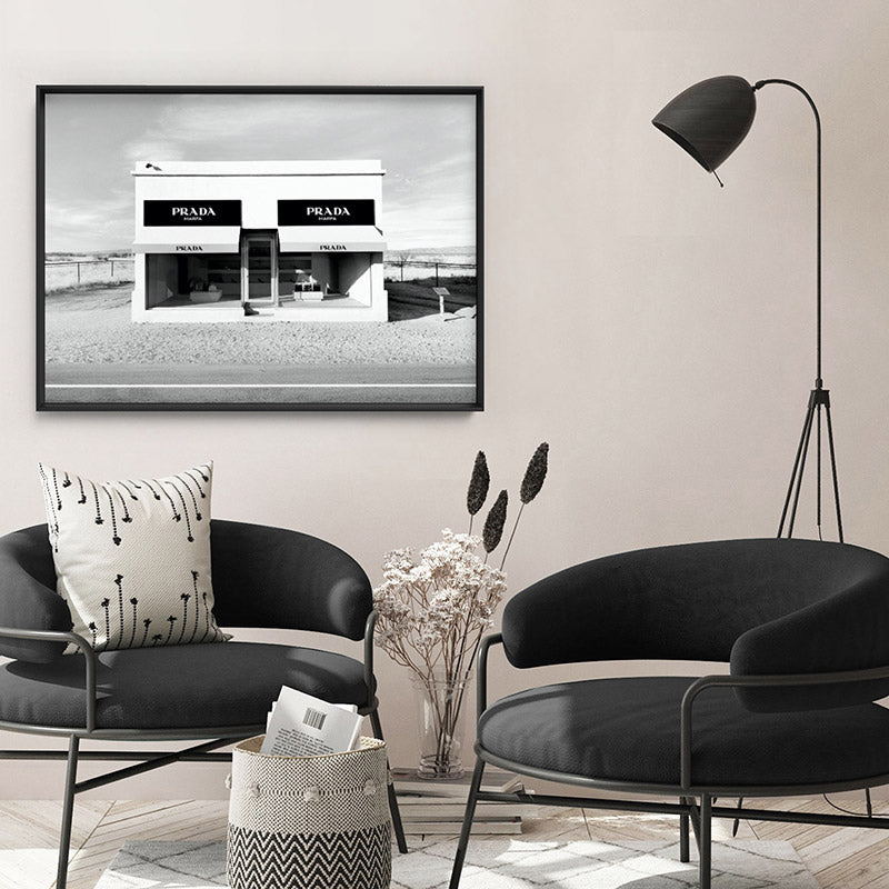 Load image into Gallery viewer, Marfa Store Texas in B&W - Art Print