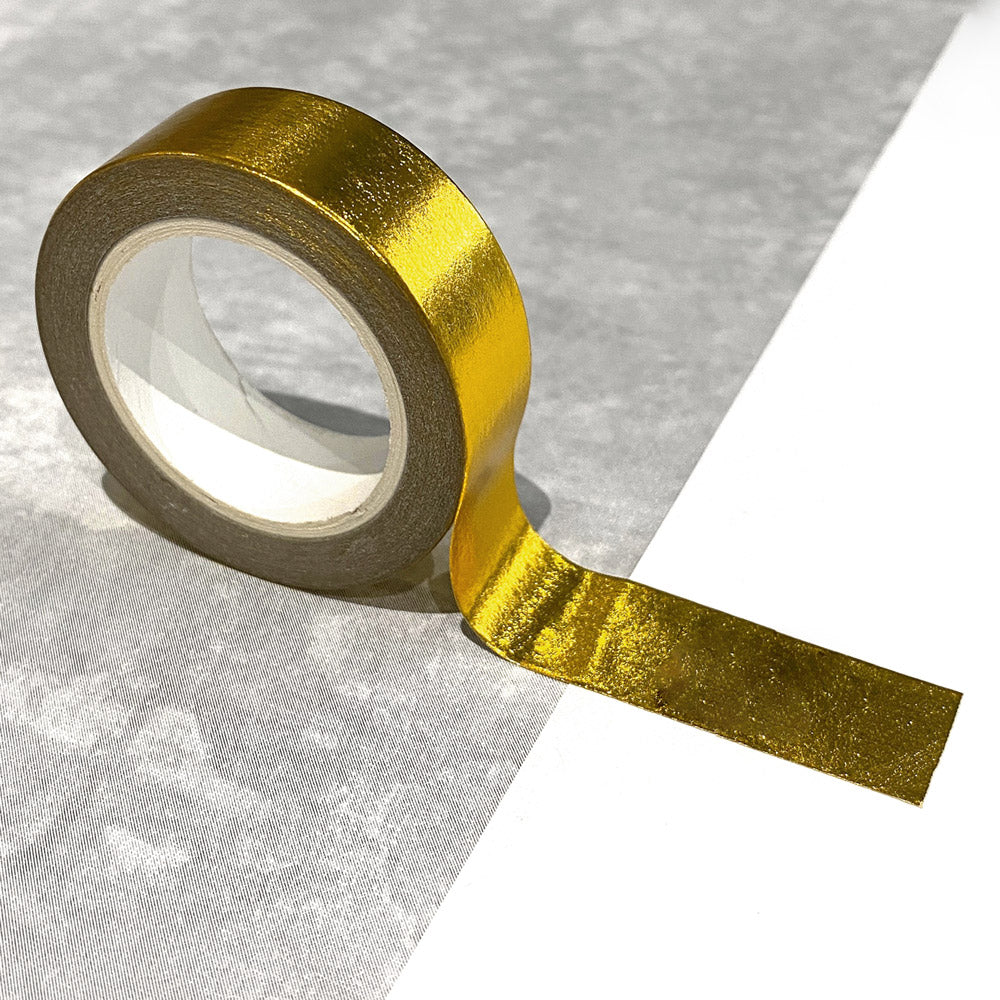 Washi Tape in Solid Gold Foil