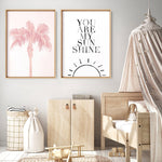 You Are My Sunhine  - Art Print, Stretched Canvas, or Framed Canvas Wall Art